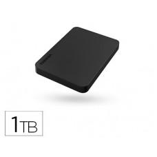 "DISCO DURO TOSHIBA 2,5"" EXTERNO CANVIO BASICS 1 TB 5000 MBIT/S MICRO USB 3.0 NEGRO"