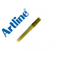 RECAMBIO ROTULADOR ARTLINE EK-63R CLIX FLUORESCENTE AMARILLO