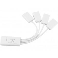 HUB EWENT FLEXIBLE 4 PUERTOS USB 2.0