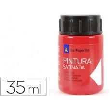 PINTURA LATEX LA PAJARITA BERMELLON 35 ML