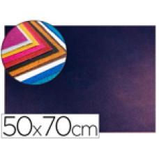 GOMA EVA CON PURPURINA LIDERPAPEL 50X70CM 60G/M2 ESPESOR 2 MM BICOLOR AZUL ROJO