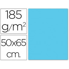 CARTULINA GUARRO AZUL CIELO -50X65 CM -185 GR