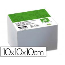 TACO LIDERPAPEL ENCOLADO 100 X 100 X 100MM BLANCO