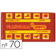 PLASTILINA JOVI 70 MARRON -UNIDAD -TAMAÑO PEQUEÑO