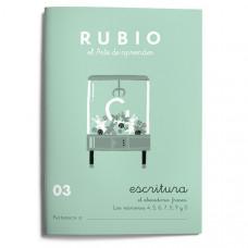 CUADERNO RUBIO CALIGRAFIA Nº 03