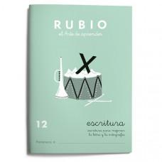 CUADERNO RUBIO CALIGRAFIA Nº 12