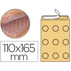SOBRE BURBUJAS CREMA Q-CONNECT A/000 110 X 165 MM