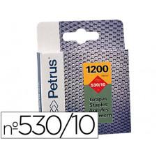 GRAPAS PETRUS Nº 530/10 -CAJA DE 1200 GRAPAS
