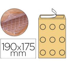 SOBRE BURBUJAS CREMA Q-CONNECT CD 165X175 MM