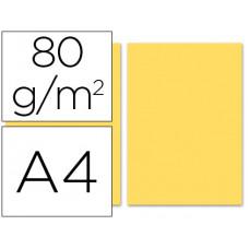 PAPEL COLOR LIDERPAPEL A4 80G/M2 CREMA PAQUETE DE 100