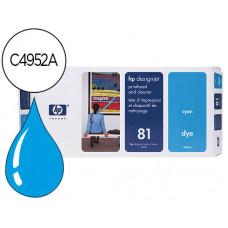 CABEZAL HP N.81 CIAN CON LIMPIADOR DE CABEZAL DESIGNJET 5000/5500