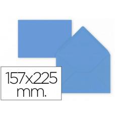 SOBRE LIDERPAPEL C5-EA5 AZUL OSCURO 157X225MM 80 GR PACK DE 9 UNIDADES