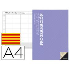 AGENDA DE PROGRAMACION ADDITIO A4 PLAN MENSUAL Y PROGRAMACION SEMANAL DEL CURSO EN CATALAN