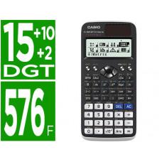 CALCULADORA CASIO FX-991SPX II CLASSWIZZ CIENTIFICA 576 FUNCIONES 9 MEMORIAS 15+10+2 DIGITOS CODIGO QR CON TAPA