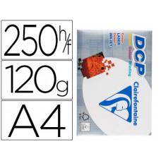 PAPEL FOTOCOPIADORA CLAIREFONTAINE DIN A4 120 GRAMOS PAQUETE DE 250 HOJAS
