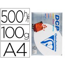 PAPEL FOTOCOPIADORA CLAIREFONTAINE DIN A4 100 GRAMOS PAQUETE DE 500 HOJAS