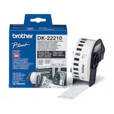 CINTA DE PAPEL CONTINUO BROTHER DK-22210 PARA IMPRESORAS QL -29MMX30,48MTS-