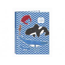 Carpeta anillas Safta Algo de Jaime Ocean 265x40x330 mm (512005067)