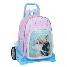 Mochila (mod. 180) con carro (mod. Evolution) Safta Frozen II Spirit of Adventure (Ref. 612115860)