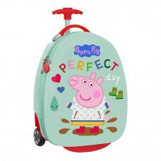 """Trolley infantil 16"""" Safta Peppa Pig (Ref. 612172848)"""