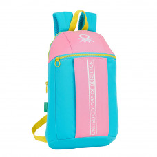 Mini mochila Mod. 821 Safta Benetton Color Block (Ref. 612153821)
