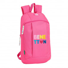 Mini mochila Mod. 821 Safta Benetton Heart (Ref. 642116821)
