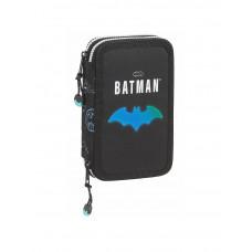 Plumier doble 28 piezas Mod. 854 Safta Batman Bat-tech (Ref. 412104854)