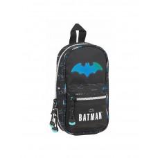 Plumier vacío forma mochila Mod. 847 Safta Batman Bat-tech (Ref. 412104847)