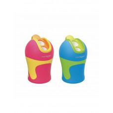 Sacapuntas Keyroad plástico con depósito dos usos Safta  (Ref. KR971525)