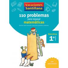 110 PROBLEMAS REPASAR MATEMATICAS 1ºEP 06 VACACIONES