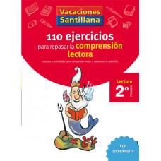 110 EJERCICIOS COMPRENSION LECTORA 2ºEP 06 VACACIONES