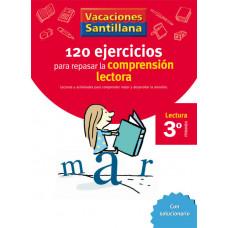 120 EJERCICIOS COMPRENSION LECTORA 3ºEP 06 VACACIONES