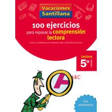 100 EJERCICIOS COMPRENSION LECTORA 5ºEP 06 VACACIONES